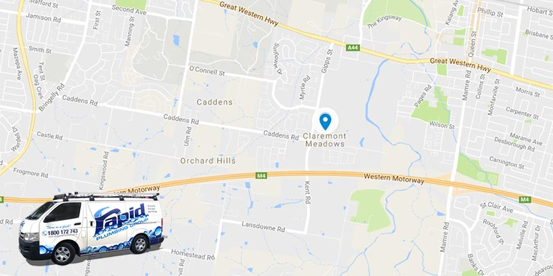 rapid plumbing group pty ltd services in claremont meadows