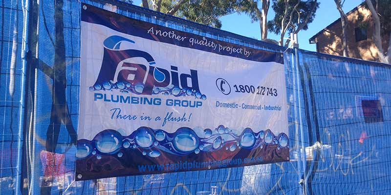 Rapid Plumbing Group Pty Ltd commercial services