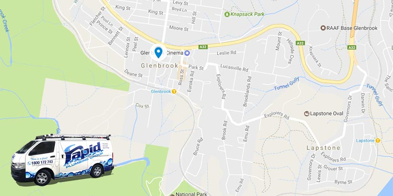 rapid plumbing group pty ltd services in glenbrook