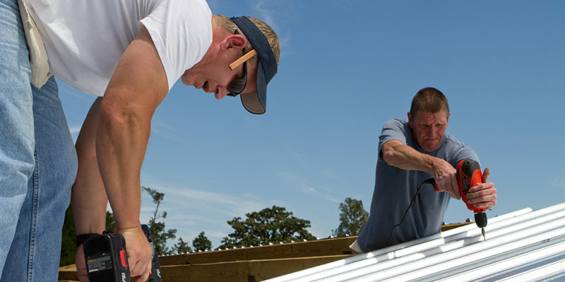 metal roofing installation and repair services