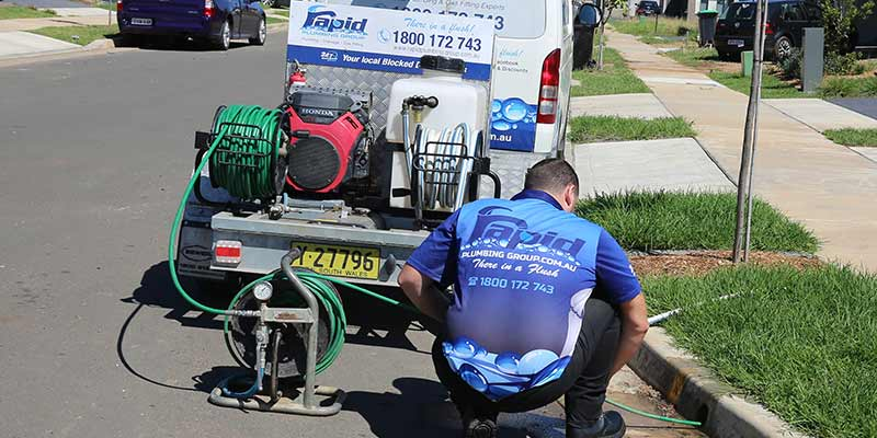 Rapid Plumbing Group Pty Ltd stormwater pit services